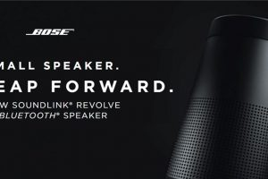 boseのbluetoothスピーカーSoundLink Revolve Bluetooth® speaker