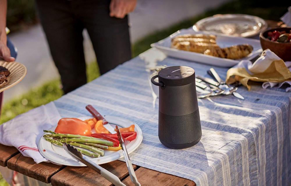 boseの円筒型スピーカーSoundLink Revolve Bluetooth® speaker