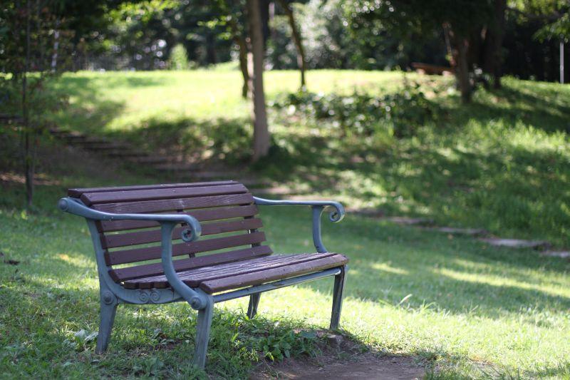 公園でubereats