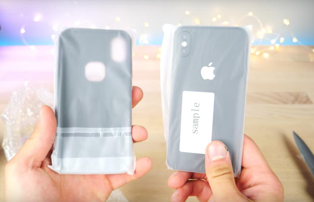 iPhone8のモックアップがらしき包み