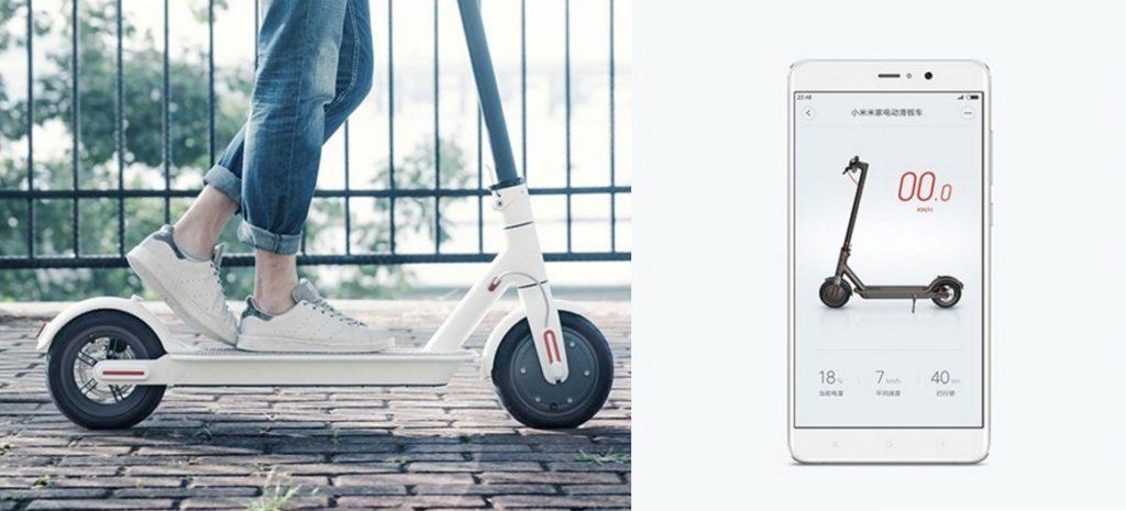 シャオミの電動スクーターm365をスマートフォンアプリで操作