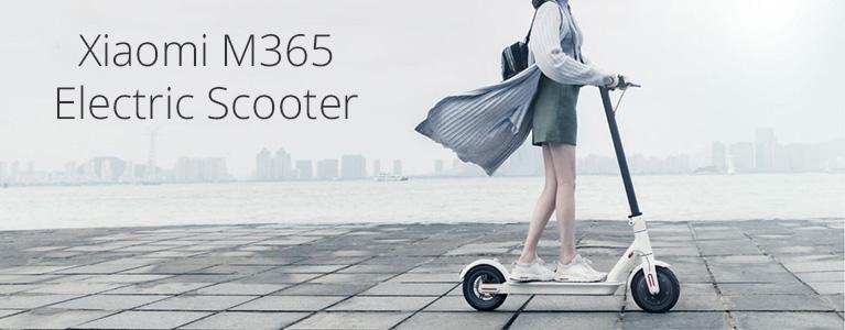 シャオミの電動スクーターm365のレビュー
