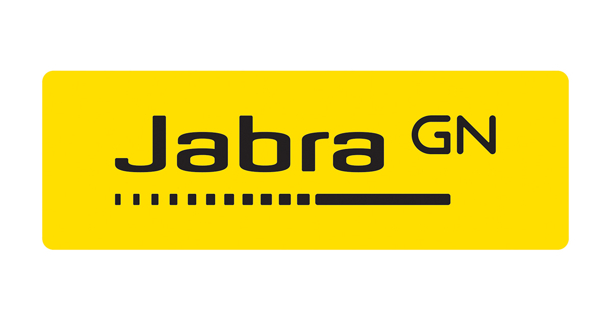 ワイヤレスオーディオブランドのjabraのロゴ