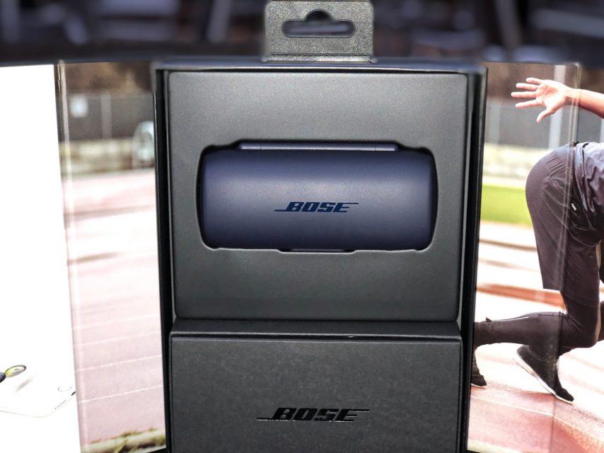 Bose SoundSport Free wireless headphones 完全ワイヤレスイヤホン ミッドナイトブルー/イエローシトロンの中身