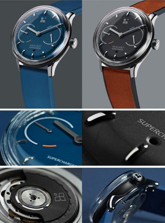 sequentのblack・blueデザイン
