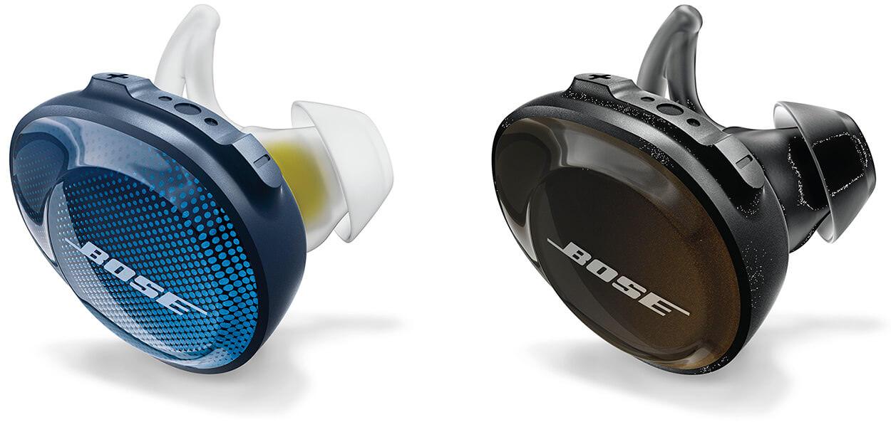 Bose SoundSport Free wireless headphones 完全ワイヤレスイヤホン ミッドナイトブルー/イエローシトロンとトリプルブラック