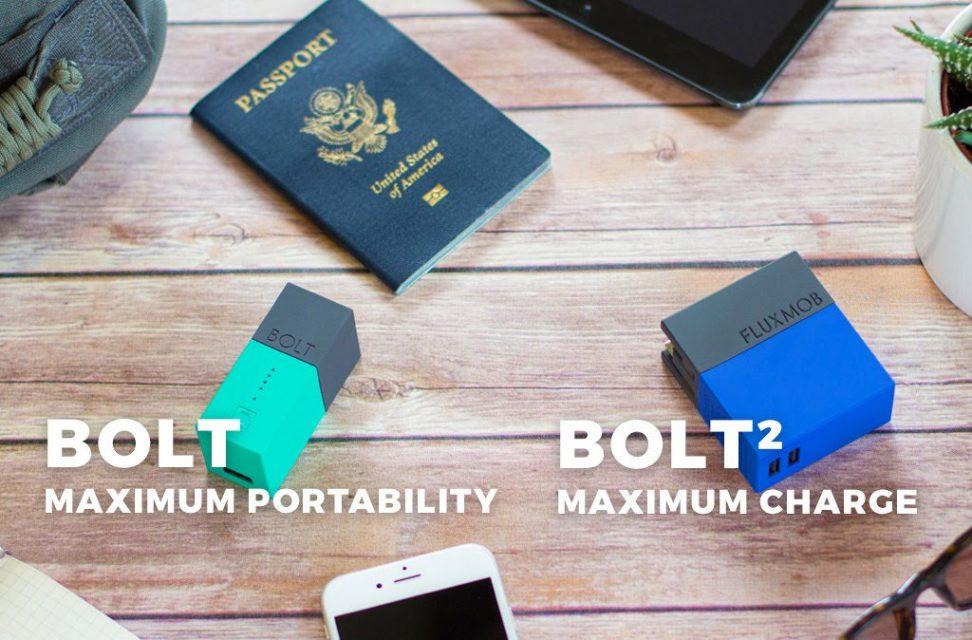 コンセント付きモバイルバッテリーfluxmob