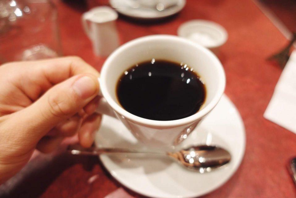 コスパ最強の表参道・原宿ランチのル・プレヴェール表参道の食後のコーヒー
