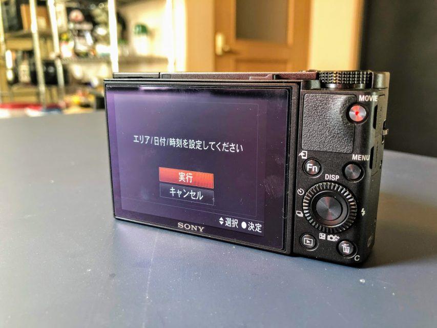 sony_RX100V_DSC-RX100M5の3インチ液晶モニター