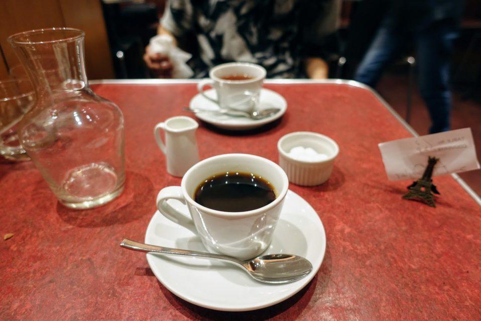 コスパ最強の表参道・原宿ランチのル・プレヴェール表参道の食後のティータイムコーヒー