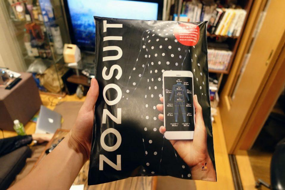 新zozosuitのパッケージ正面