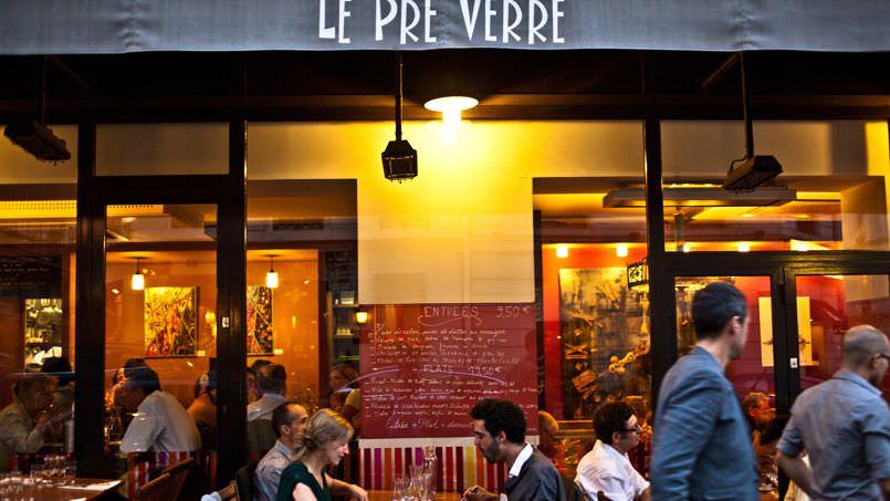 Le Pré Verreのパリ5区本店