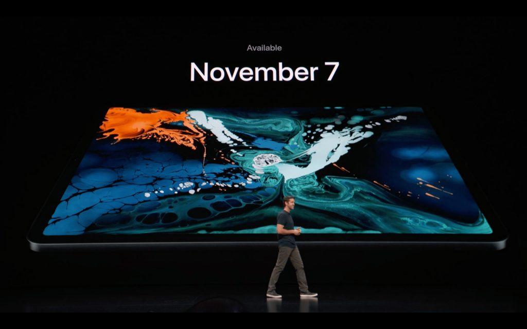 ipadproは11月7日に発売
