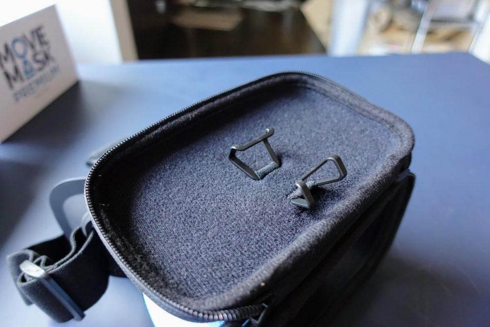moviemaskの内部のスマートフォンを引っ掛ける部分